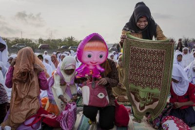 Indonesian Muslims Celebrate Eid Al-Adha