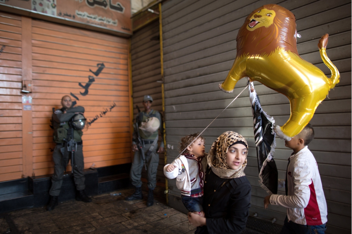 Eid in Palestine