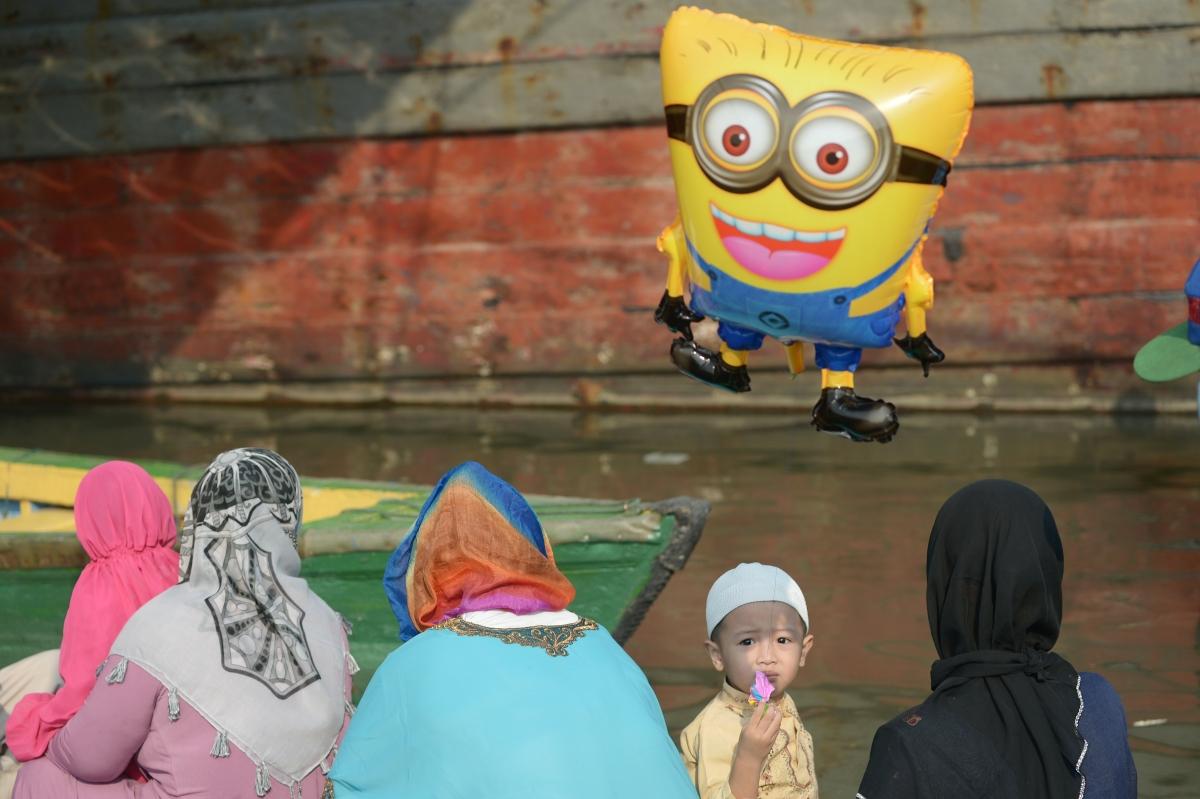 Indonesian Muslims Celebrate Eid Al-Adha