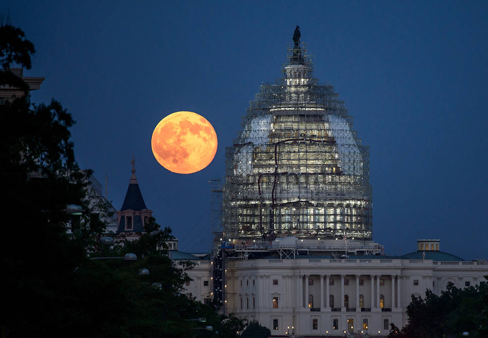 supermoon nasa photography