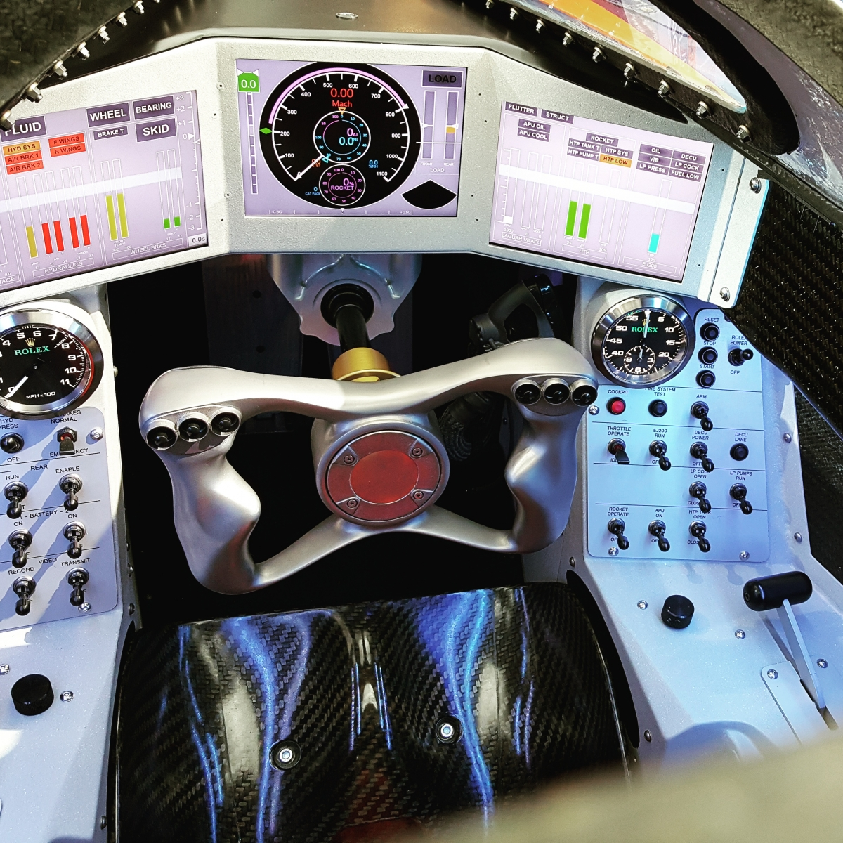 Bloodhound SSC cockpit