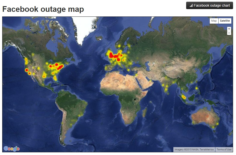 facebook down map