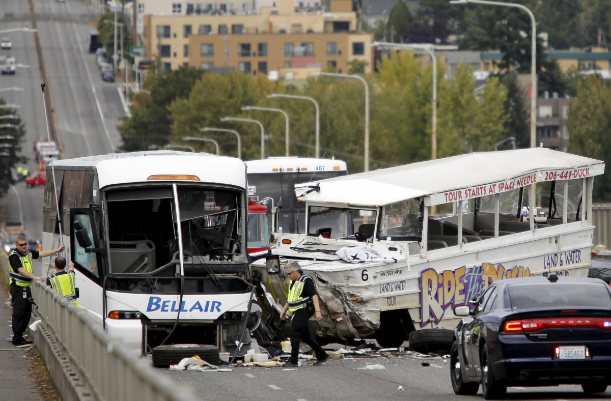 Seattle Ride the Ducks crash