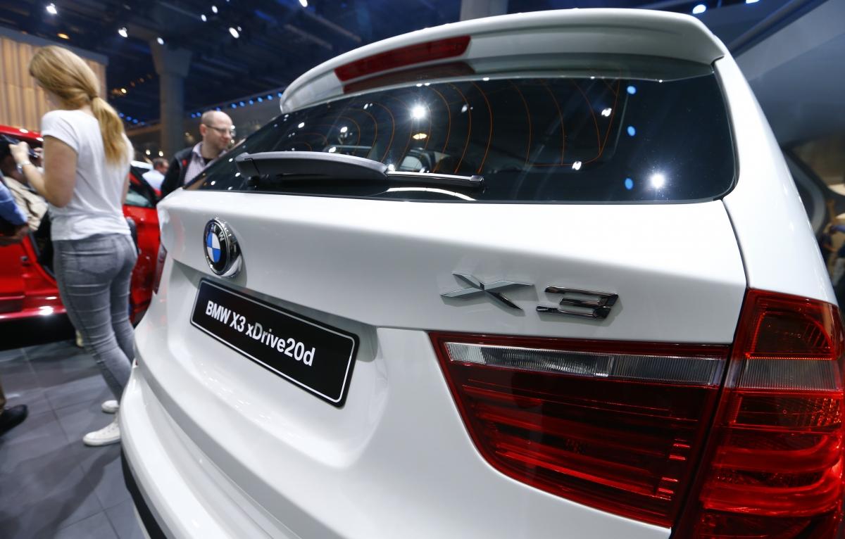 BMW X3 xDrive20d, Frankfurt