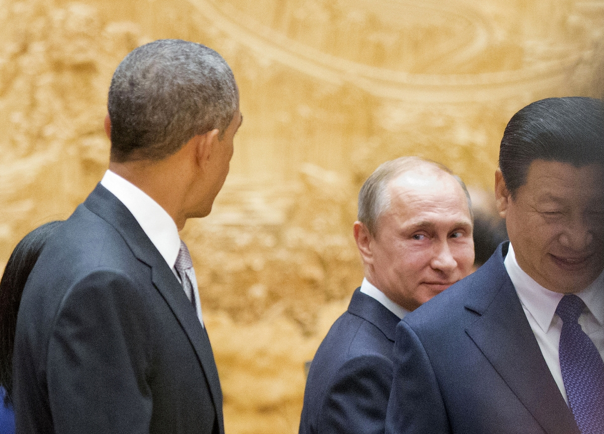 Barack Obama Vladimir Putin meeting New York
