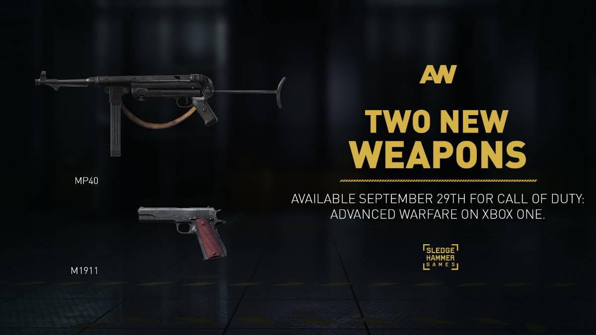 Call of Duty:Advanced Warfare weapons