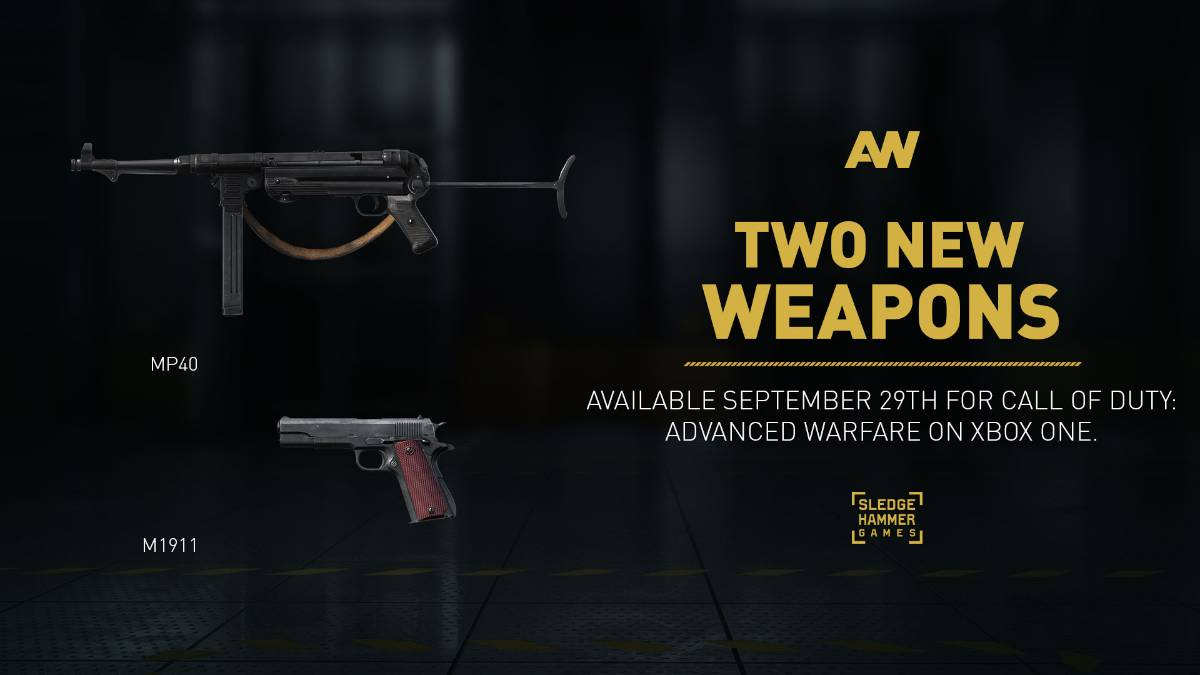 Call of Duty:Advanced Warfare weapons