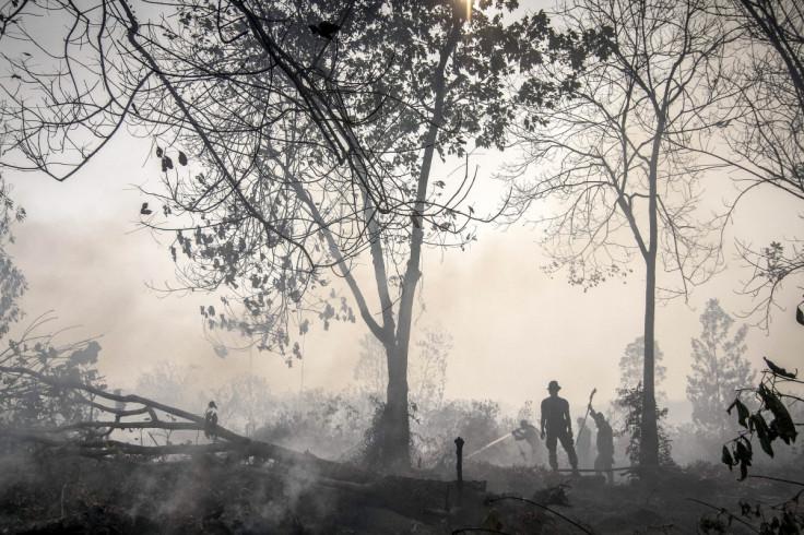 haze Singarpore Idonesia Fire sumatra