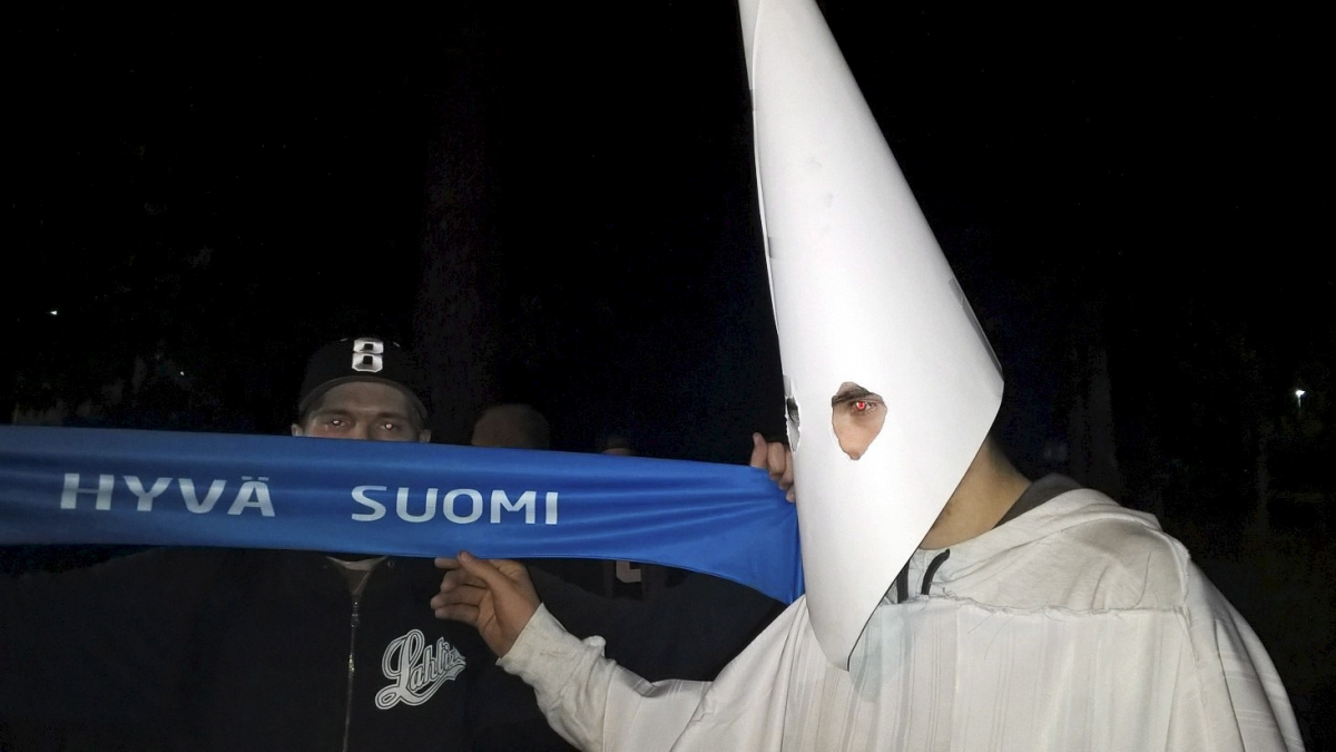 Ku Klux Klan Finland refugees