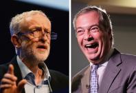 Jeremy Corbyn Labour Ukip Nigel Farage