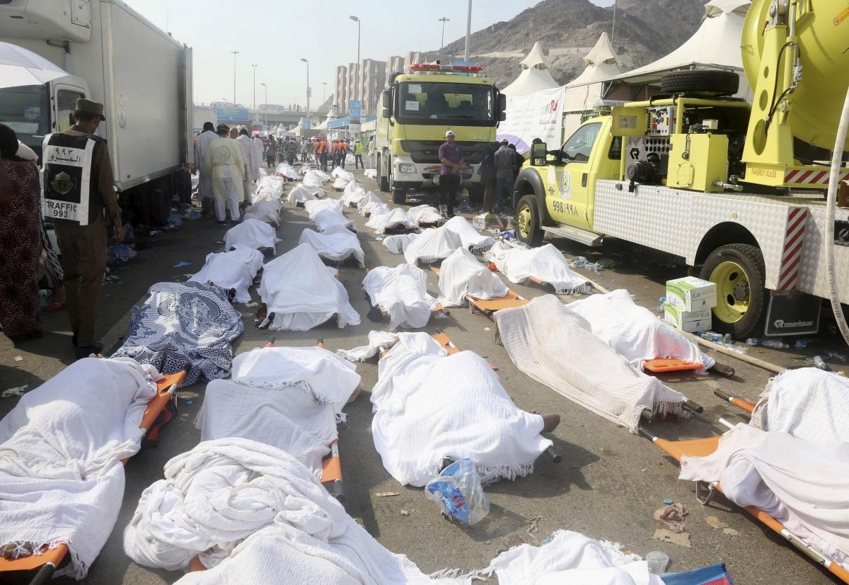 Hajj stampede Mecca 2015