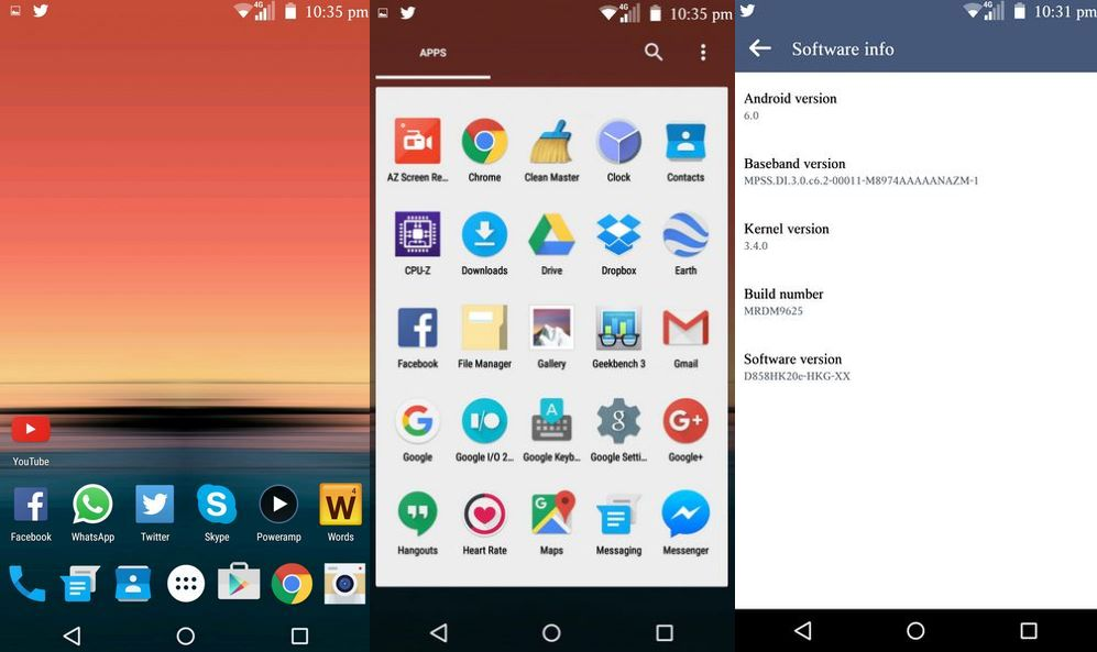 Android 6 0 Marshmallow port from Nexus 6 available for LG