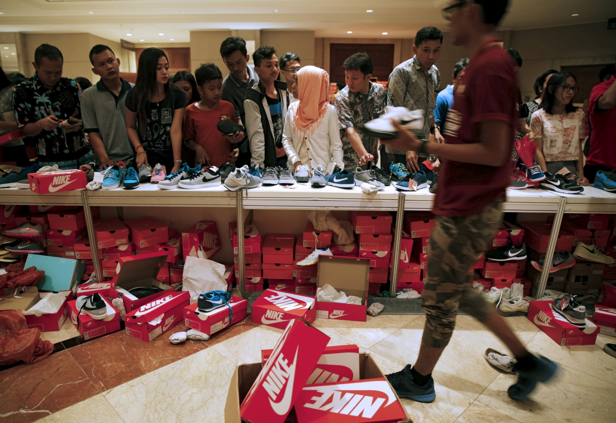 """Nike's quarter profits up 23 percent due to """"amazing"""" China results"""
