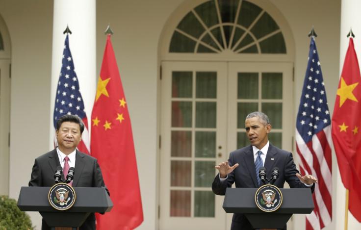 Xi Jinping & Barack Obama