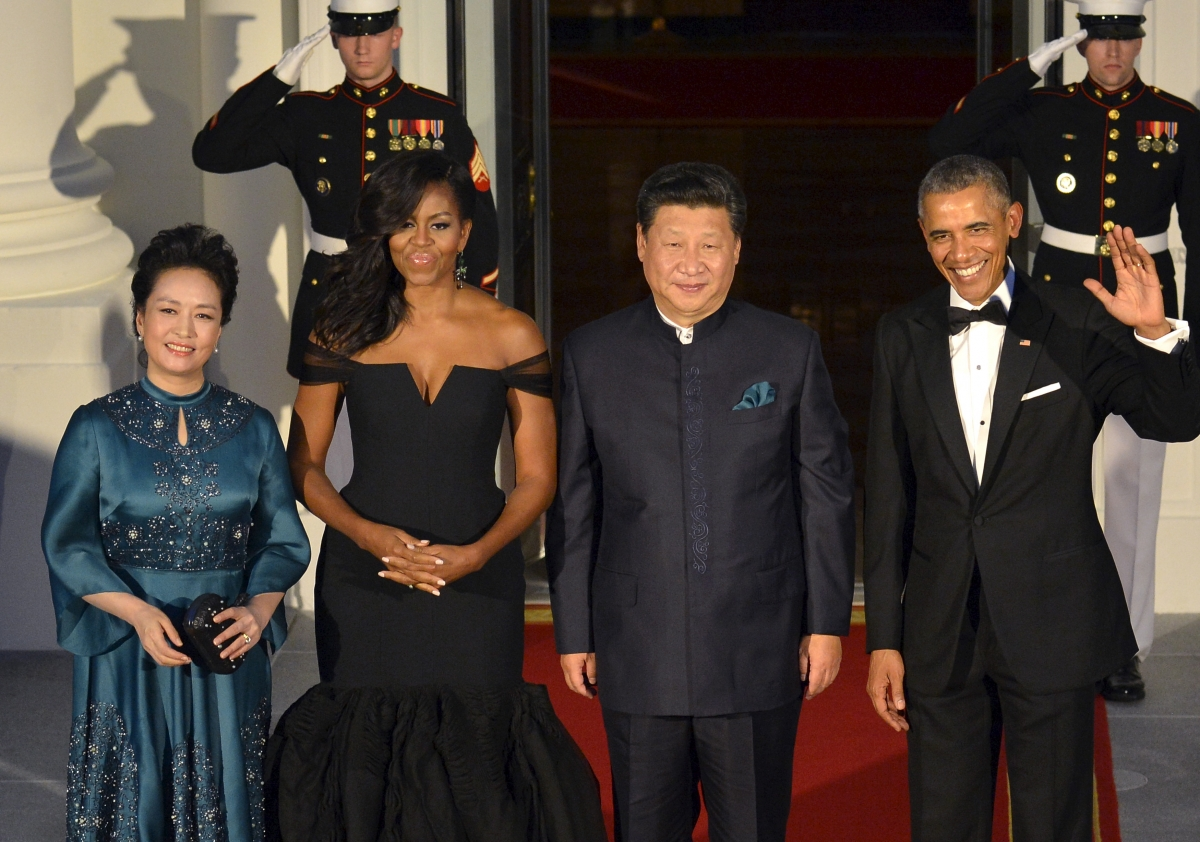 Peng Liyuan, Xi Jinping, Michelle/Barack Obama