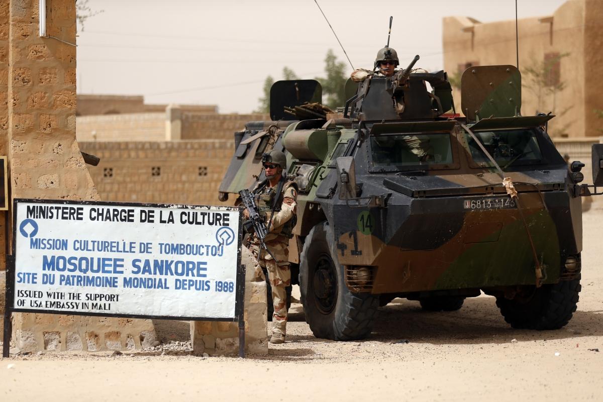 Tanks in Mali