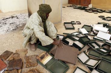 Museum guard in Mali