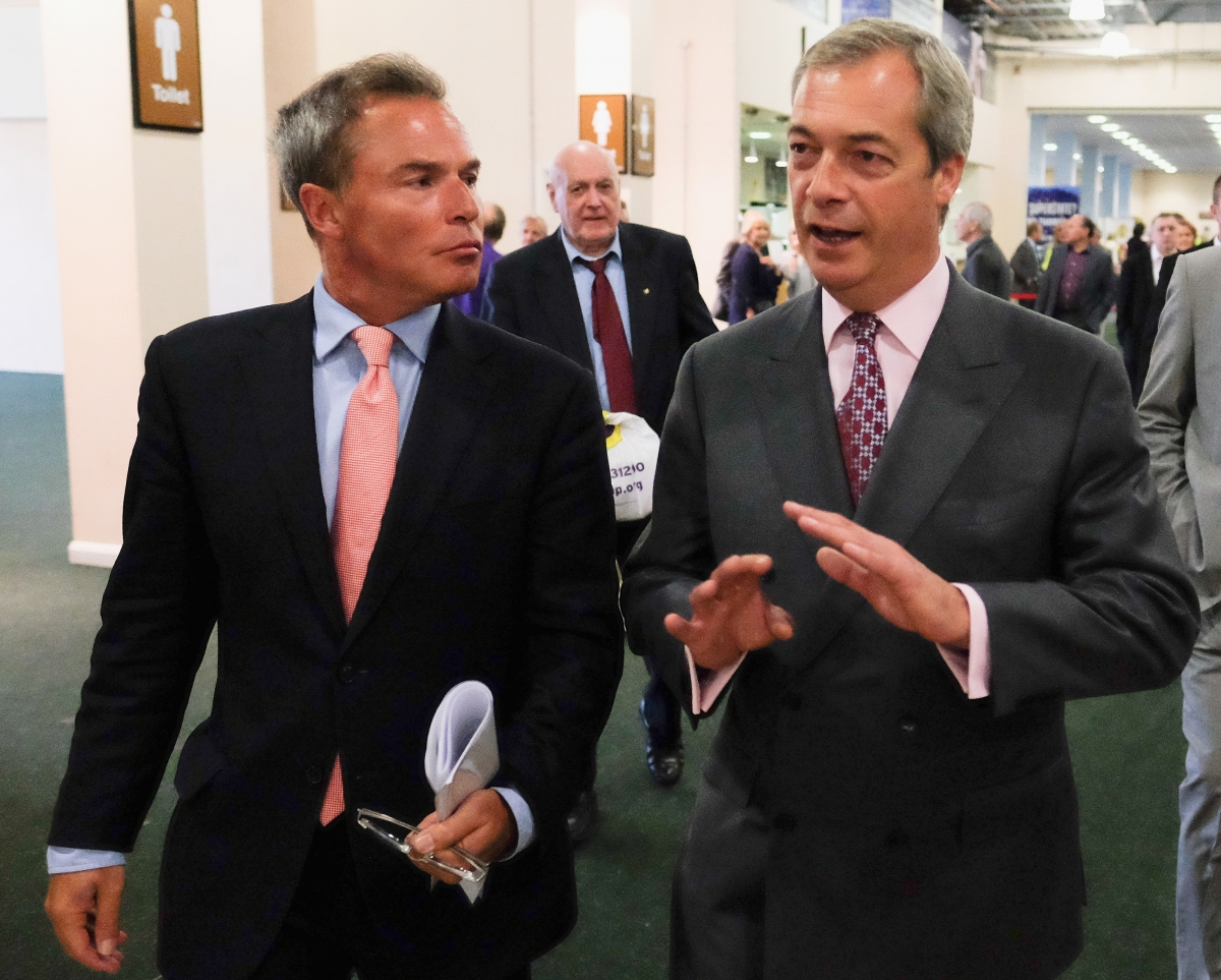 Peter Whittle and Nigel Farage