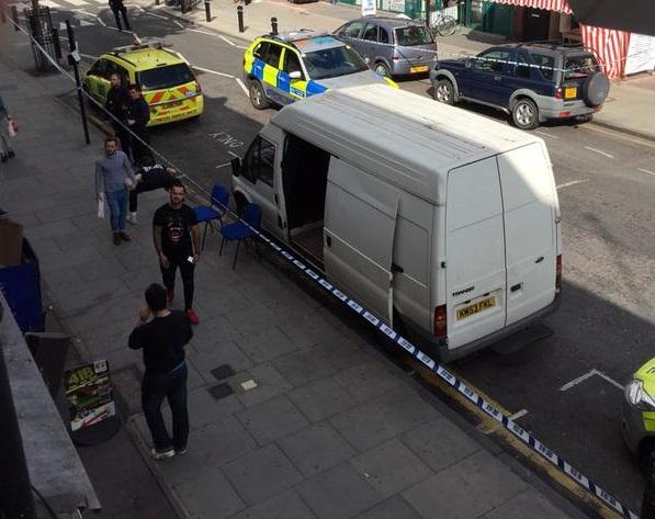 Hackney shooting east London