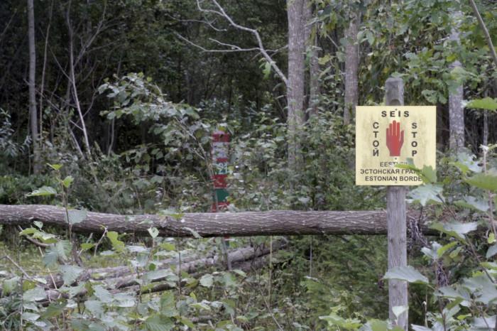 Estonia Russia border