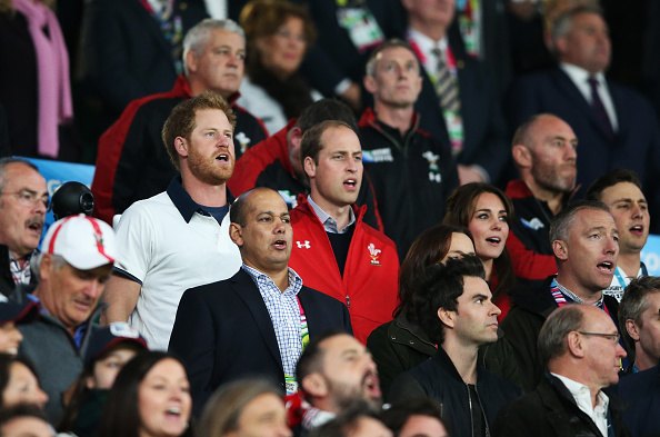 rugby world cup 2015: prince harry is 'not amused' after wales triumph