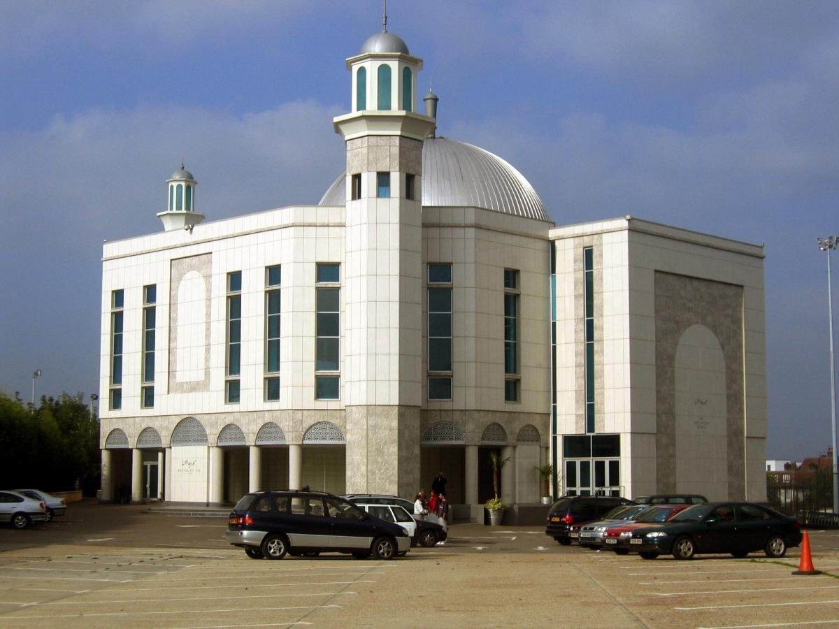 Baitul Futuh mosque 2007