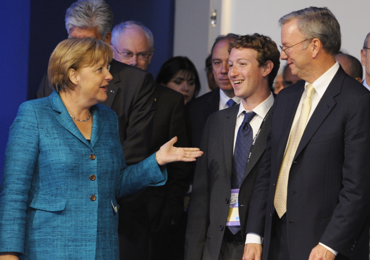 Merkel Zuckerberg