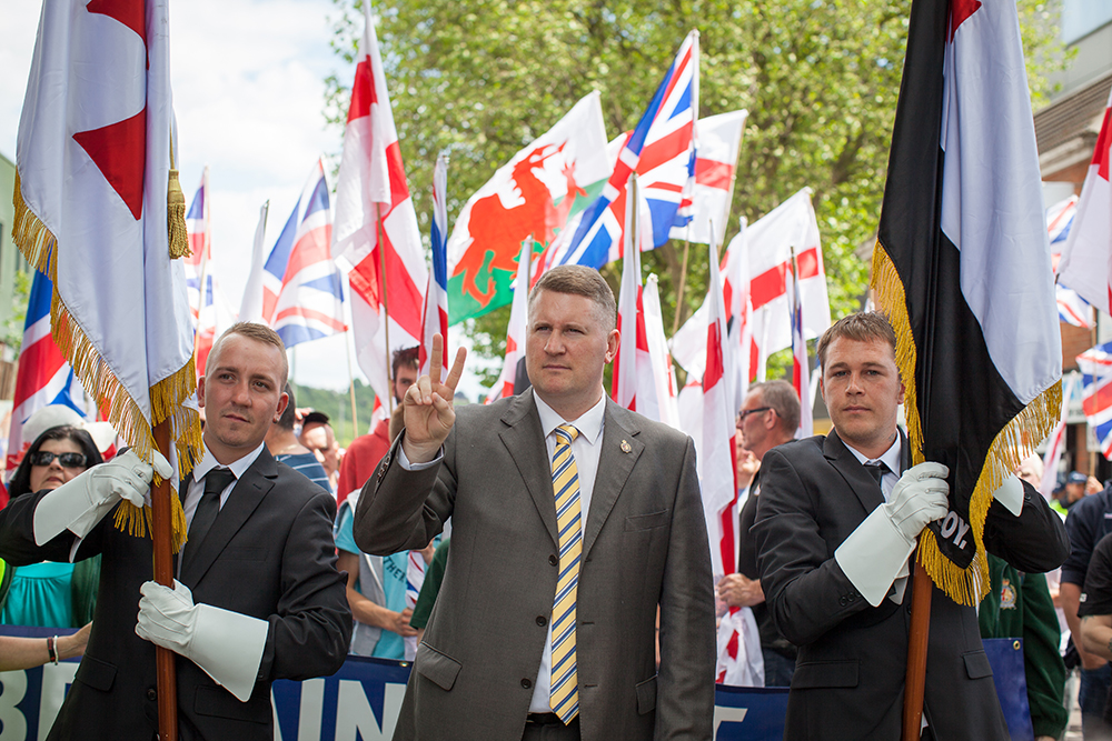 Britain First Luton protest