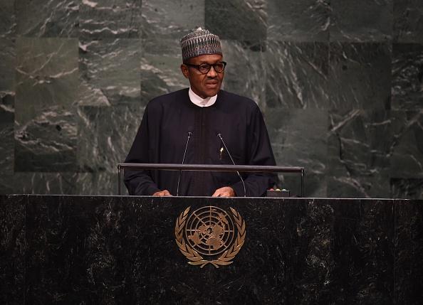 Nigeria's president Muhammadu Buhari addresses UN General ...