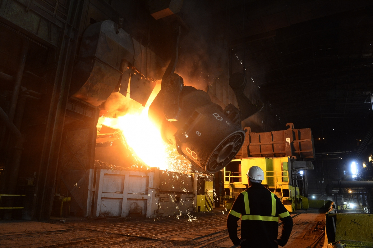 RedCar steel plant