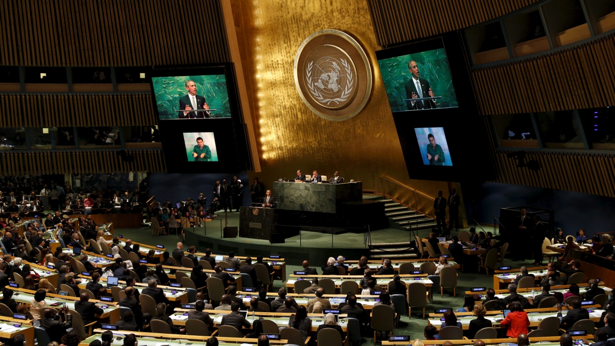 UN 70th General Assembly live