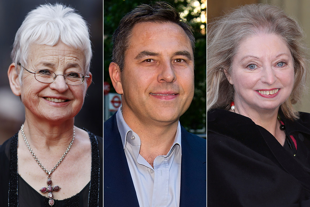Jacqueline Wilson, David Walliams and Hilary Mantel