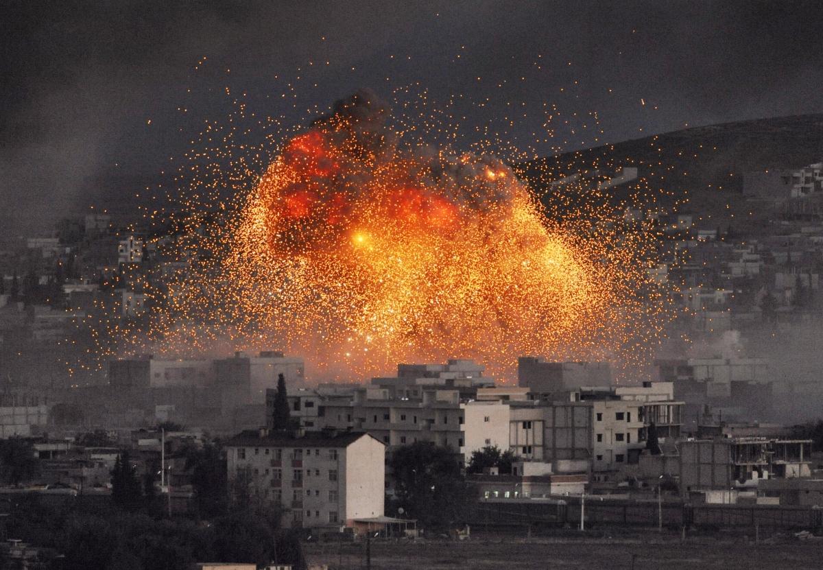 Syrian Kurds Battle IS for Kobani