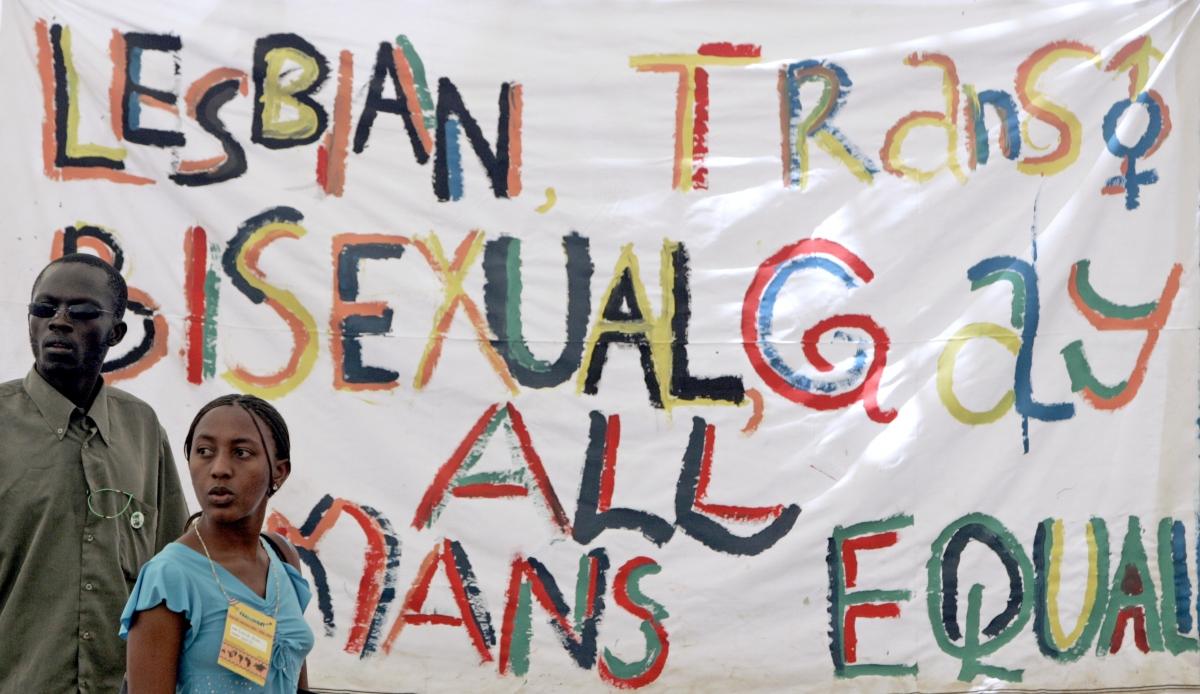 LGBT equality demonstration in Kenya