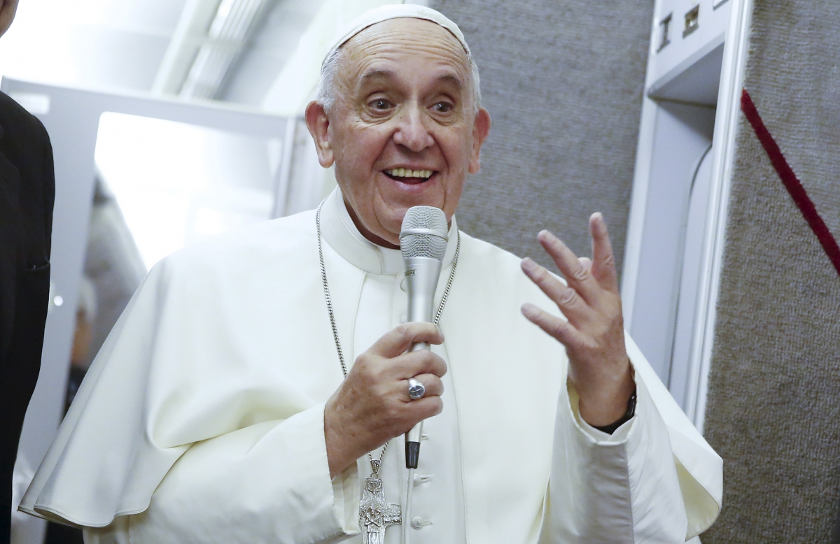 Pope Francis gay marriage refusal