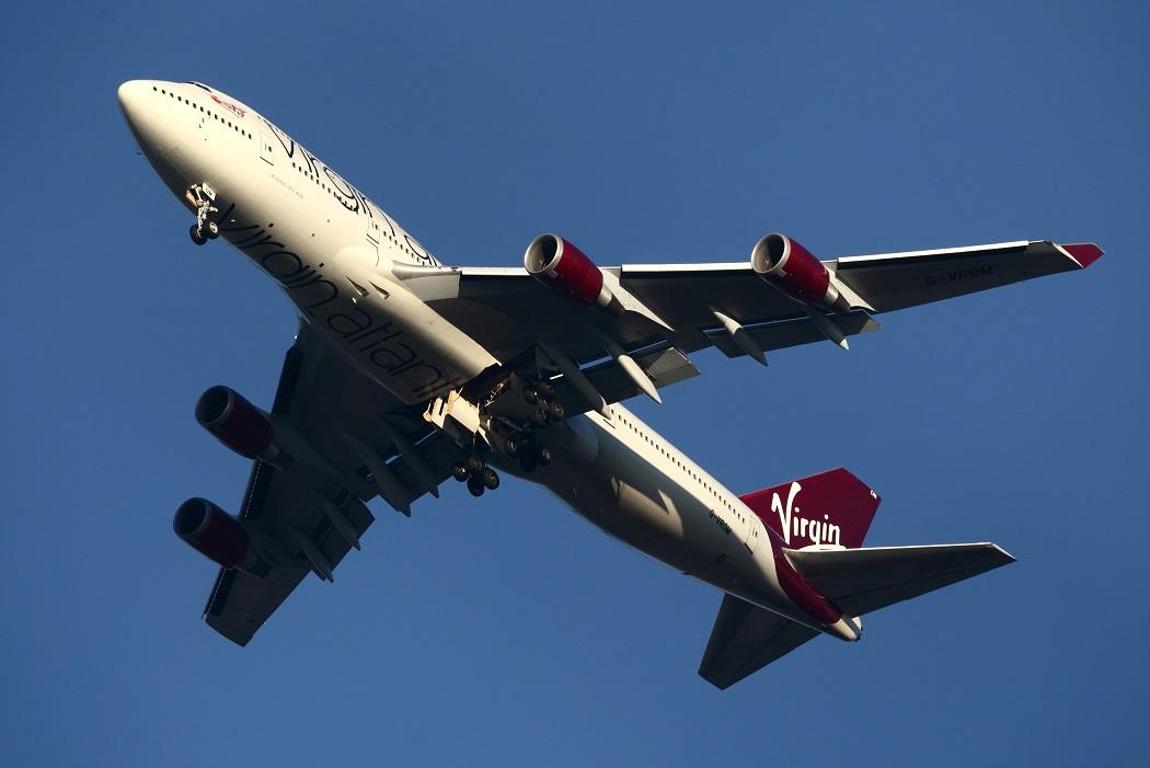Virgin Atlantic plane