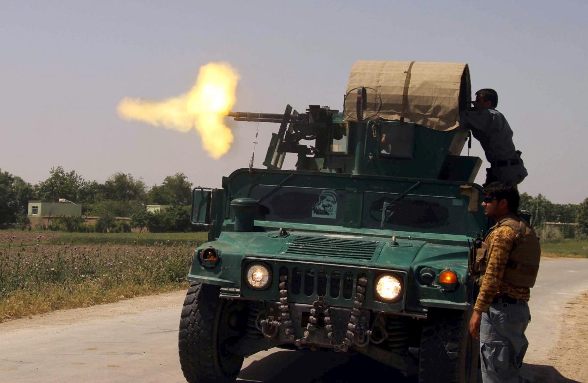 Afghanistan Taliban insurgents Kunduz