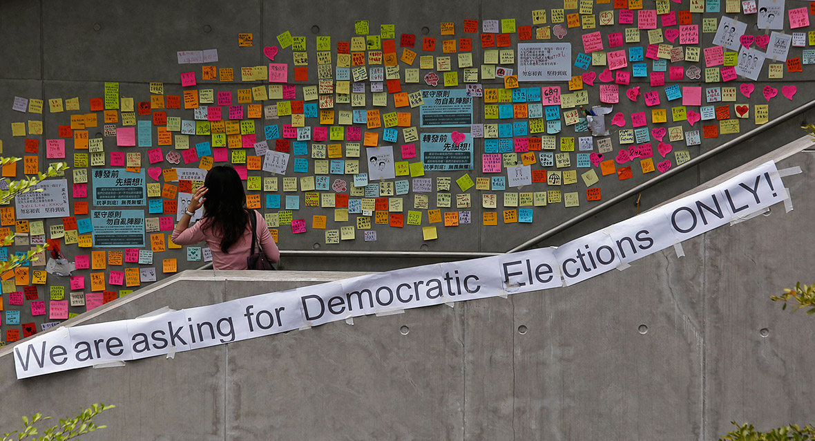 Hong Kong Umbrella democracy protests