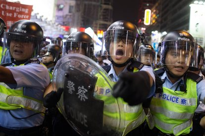 Hong Kong Umbrella democracy protests