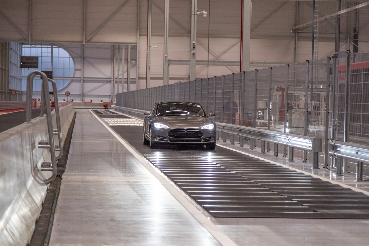 Tesla Model S at Tilburg factory