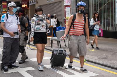 hong Kong umbrella