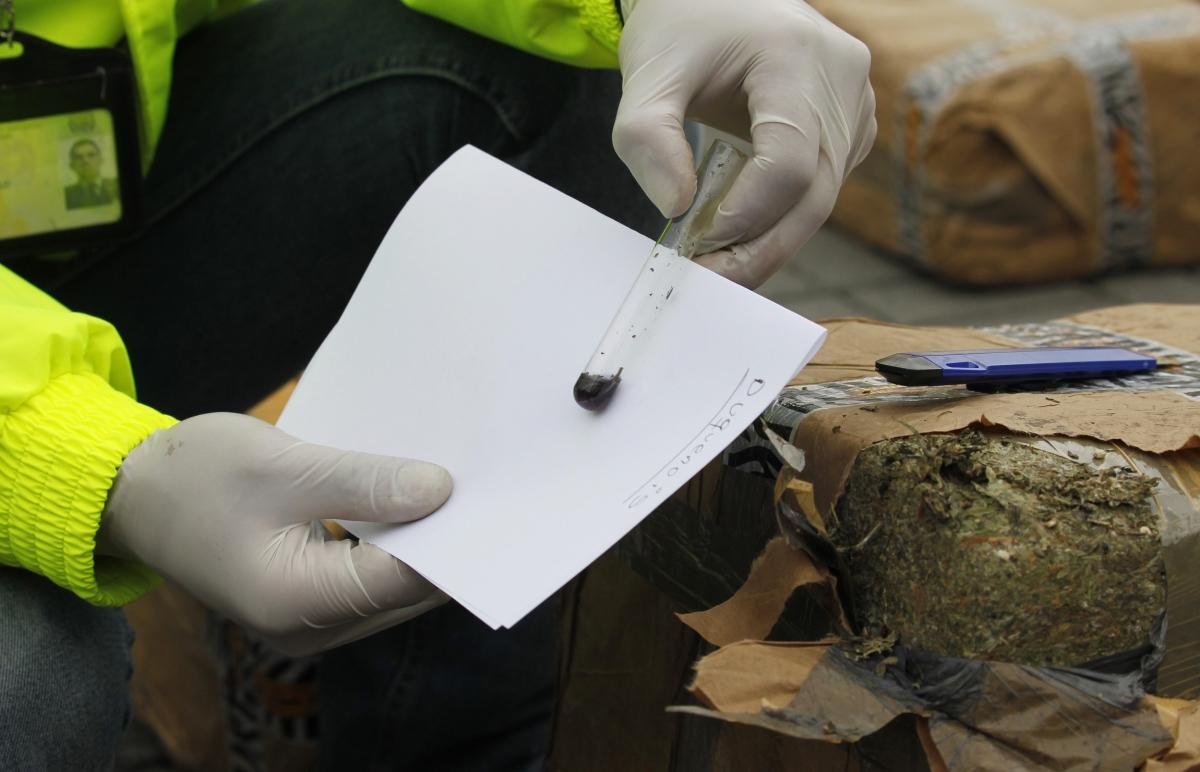 A marijuana package fell from the skydestroyingadogkennelonthe