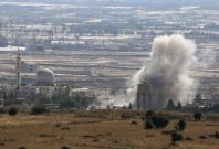 Israel Syria Golan Heights