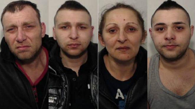 Ferenc Dardai Sr, Ferenc Dardai Jr, Melania Kiraly and Daniel Dardai