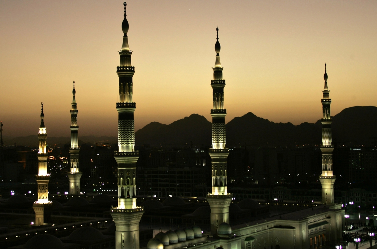 Holy city of Medina