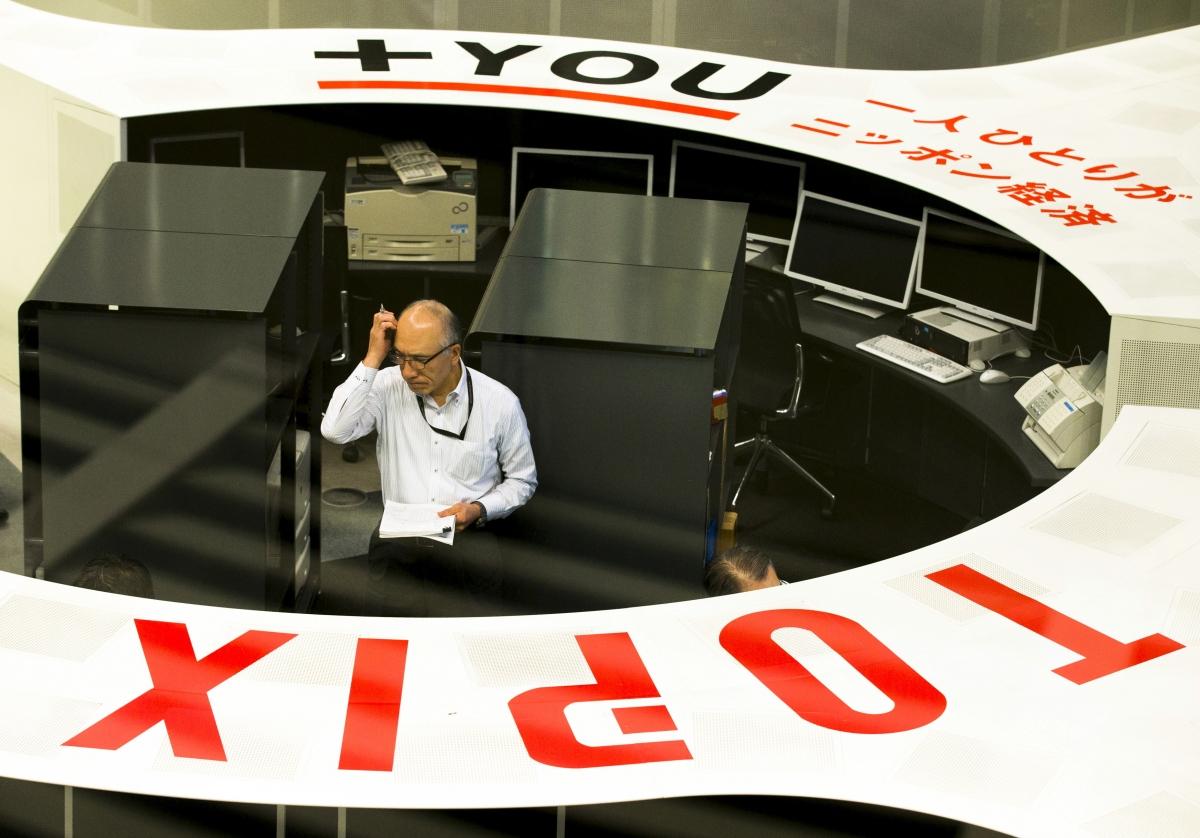Employee, Tokyo Stock Exchange