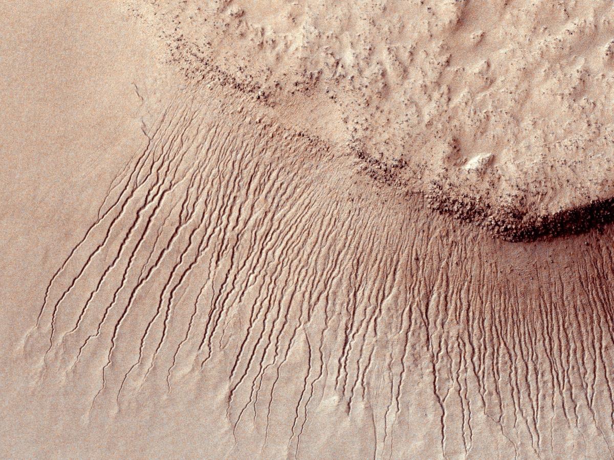 Hellas impact basin, Mars