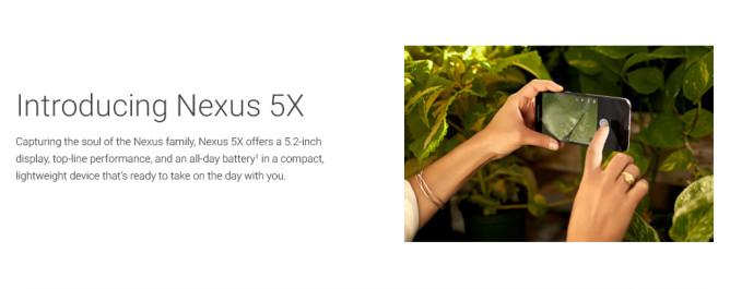Nexus 5X camera promo