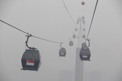 Singapore smoke haze