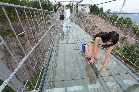 'Brave Men's Bridge'  in China